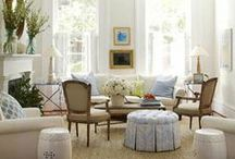 living rooms to love / by Aimee Whetstine