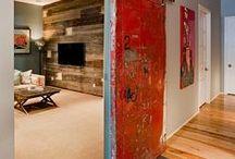 Interior Design Barn Doors / Barn doors  / by Kathryn Myrick @   K Rossi & Company