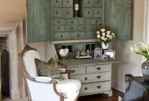 Interior Design Painted furniture / Painted furniture / by Kathryn Myrick @   K Rossi & Company