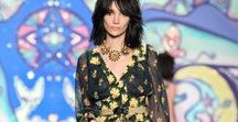 Spring 2015 Runway / Images from the Anna Sui Spring 2015 Fashion Show
