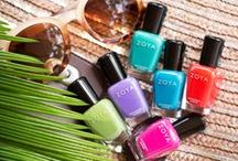 Summer Nail Polish / Zoya shades from all Summer Collections