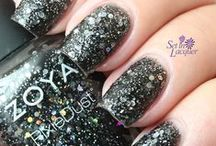 Imogen Style / Zoya Imogen is a black crystal Magical PixieDust with holographic hex glitter. This is our inspiration board for her.  / by Zoya Nail Polish
