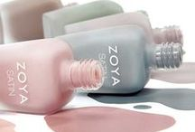 Naturel Satins / The Zoya Naturel Satins Collection features 6 shades in an ultra-wearable, semi-matte, chic satin finish. See swatches and nail art pictures here.  / by Zoya Nail Polish