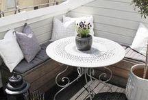 Einrichtung - Balkon