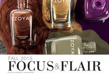 Focus & Flair / From Runway to Real Life - Two new collections from Zoya for Fall 2015! / by Zoya Nail Polish