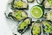 Seafood and Kiwi / Kiwi pairs nicely with all kinds of seafood. Enjoy these kiwi and seafood recipes!