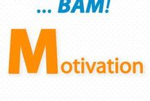 "Solopreneur MOTIVATION / What common thread connects successful solopreneurs? They came to SBI! with 3 simple qualities that we call ""BAM!"" --  Brain, Attitude,  Motivation: high level of determination."
