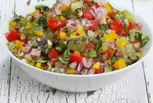 Salsas, Sauces and Jams / Dress up any boring dish with a kiwi fruit salsa, sauce or jam! Its so easy and makes any dish gourmet in seconds.