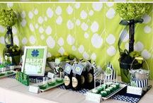 St Patrick's Day Ideas / A collection of fun ideas for decorating your home, sweet treats, and having fun with the kids on St Patrick's day! / by Sharon Rowley (MomOf6)