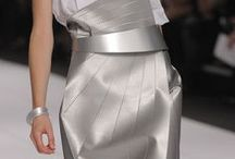 Silver  modern chic / All that glitters... is not gold / by Lauren Chisholm