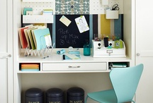 Stations & Command Centers / Command centers helps busy Moms become more organized! Every Mom needs a command center in her home office or kitchen! / by Sharon Rowley (MomOf6)
