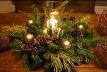 Holiday Centerpieces & Arrangements / by Beth DiMeo