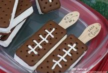 Super Bowl Snacks / Some people watch the Super Bowl to enjoy the game- others to enjoy the snacks (well- okay... and the commercials too!) / by Sharon Rowley (MomOf6)