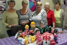 Craft & Hobbies Knitting & Crafting For Charity / Every week two groups meet in our Craft Area and make products that are either given to Charities or Sold at one of our Open Days and the proceeds are then donated to St.Wilfrid's Hospice. Crafting For Charity meet Tuesday Mornings 10am – 12.00pm Knitting For Charity meet Friday Mornings 10am – 12.30pm