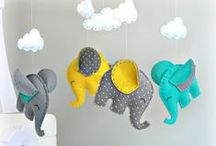 Mobiles for nurseries / Mobiles for baby nursery