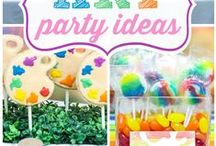 Kids Party Ideas / Ideas for kids parties, mainly decoration