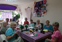 Craft & Hobbies Crafting Area / We hold weekly Craft Classes & Groups in our Crafting Area   / by Craft And Hobbies