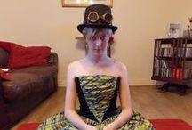 Steampunk Fashion / What a fantastic and creative look!