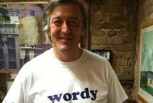 Sophisticated Stephen Fry...