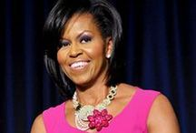 Michelle Lavaughn Robinson Obama...Smart and super stylish! / Michelle Obama. Nothing political, I am not American, I just admire her and her style.