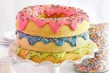 Birthday Cakes / The ultimate resource for birthday cakes you can make at home! / by Sharon Rowley (MomOf6)