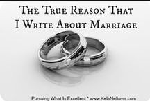 Love. Respect. Honor. Cherish / Marriage Enrichment / Honoring God in my marriage / by Kela