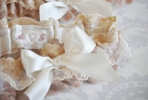 Bridal Garters / We have handmade each of these beautiful garters.  We have a large selection and most can be customized with your initials and date.  Please visit our website at www.januaryrosebridal.com or visit us on Etsy.