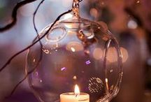 CANDLES decorating ideas / Original ways to light your garden or your home with candles