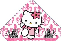Hello Kitty Tassel Topper Designs / Professionally Printed Graduation Cap Decorations! Hello Kitty Designs and Prints! Visit Our Website And Make Your Own! / by Tassel Toppers