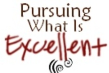 Pursuing What Is Excellent blog / by Kela Nellums