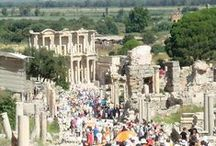 Ephesus Sightseeing / It's only a couple of hours from Bodrum to Ephesus, so you can do it in a day. I'll be pinning stunning photos of this historical site, and information about sightseeing here during your trip to Turkey.