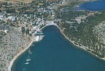 Iassos / Introduction to Kıyıkışlacık & the Ancient City of Iassos The seaside village of Kıyıkışlacık, also contains the ancient Carian city, Iassos (aka: Iasus and Iasos). Located near the Bodrum Peninsula