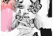 Artistic ILLUSTRATIONS / Artistic illustrations not to miss if you love art like me!