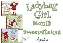 Ladybug Girl Month / My Entry for the  #penguinkids and #ladybuggirl Sweepstakes for April 2015.