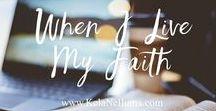 Tenacious Faith / Living a Holy Spirit Led Life   Holding Nothing Back