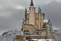 Castles and Manors / Castles and manors that have inspired various books I've written.