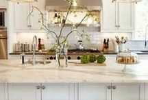 kitchens & pantries / by Stephanie Flynn