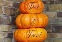 Holidays - Halloween / decorations, food and ideas / by Debbie Sedersten