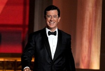 The 64th Annual Primetime Emmy Awards / Stephen Colbert and Jon Stewart at The 64th Annual Primetime Emmy Awards. / by Colbert News Hub