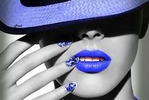 I Have The Blues... / ...and the azule, blå, azzurro m, bleu m, polū, caerulus, bluu, and albastru. / by Norma Asbury