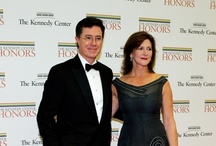 35th Kennedy Center Honours / Stephen and Evelyn Colbert attend the 35th Kennedy Center Honours at the Kennedy Center Hall of States on December 2, 2012 in Washington, DC.  / by Colbert News Hub