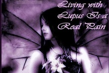 I Have Lupus It's A Daily Battle & Fibro & Arthritis / At 7 I showed signs of Lupus. At 18 more signs. At 26 the signs were all there but doctors said I was crazy and gave me pills and said, I set you up an appointment with a psychiatrist.. I knew something was wrong but not in my head. I went to over 100 doctors only to leave crying and being told they never wanted to see me in their office again, I was too young to be sick. At 37 they diagnosed me, I'm now 51 It's very painful & tiring, but on the bright side I'm thankful it's not cancer!  / by Michele Is Blessed