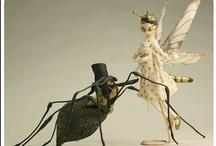 Hidden Creatures / Fairytale, mythological creatures, and art dolls.