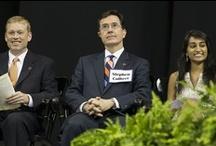 University of Virginia Valedictation 2013 / Stephen Colbert is the keynote speaker at the University of Virginia's 2013 Valedictory Exercises. / by Colbert News Hub