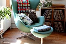 Egg Chair Love / Dedicated to the wonderful, mid century modern, Egg Chair by Arne Jacobsen