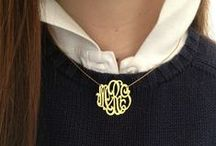 Monogram Me! / Granted, I have nothing tangible that's monogrammed, but... I can dream :) / by Meghan Carter