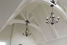 Stare at the Ceiling / Ceilings are the crown to your space. They can change the whole look of your room. / by Norma Asbury