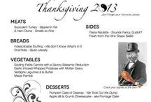 Turkey Day Dinner / The most anticipated family gathering of the year for my family! / by Norma Asbury