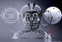3D Sci-fi / by Siem-yi - Infografía - 3D