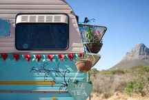 Camping it Up! / Campers, caravans, RVs, tents, trailers...